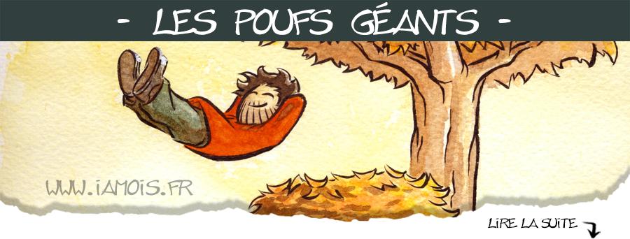 Pouf d'automne