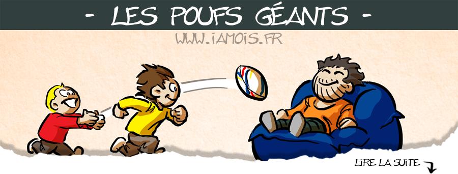 Rugby à pouf