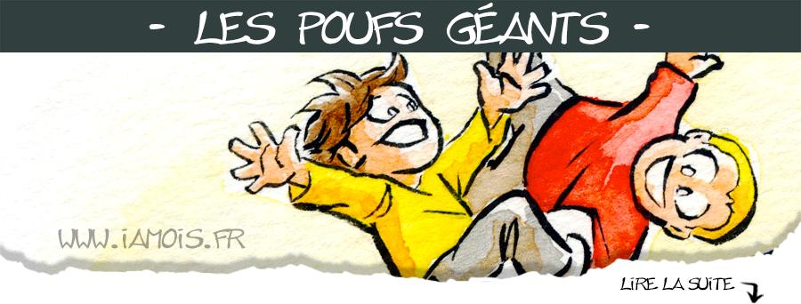 Pouf Fourré