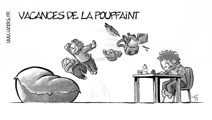Vacances De La Pouffaint - auteur : iamo'i's