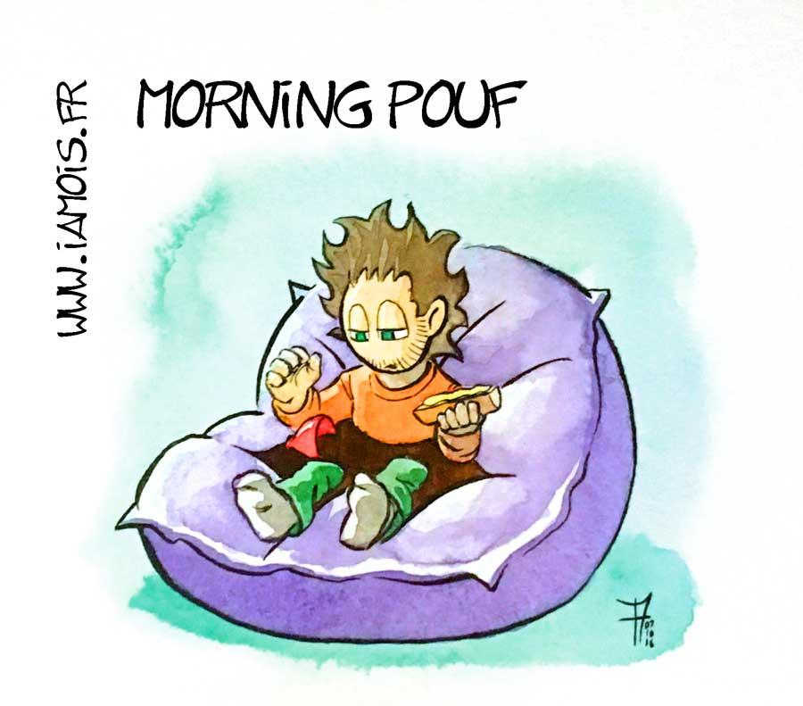 Morning Pouf - auteur : iamo'i's