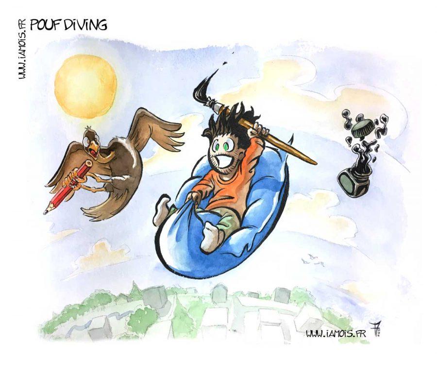 Pouf Diving - auteur : iamo'i's