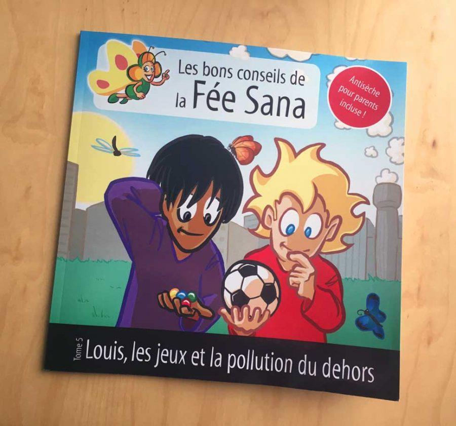 Fée Sana - Tome 5 : asthme et pic de pollution - auteur : iamo'i's